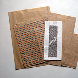 Paper bags with tab